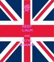 KEEP CALM AND LOVE SHANIA - Personalised Poster large