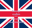 keep calm and love sharmaine - Personalised Poster large