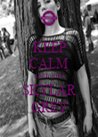 KEEP CALM  AND LOVE SKYLAR GREY - Personalised Poster large