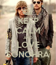 KEEP CALM AND LOVE SONOHRA - Personalised Poster large