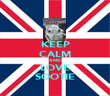 KEEP CALM AND LOVE SOOTIE - Personalised Poster large