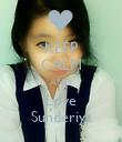 KEEP CALM AND Love Sunderiya - Personalised Poster large