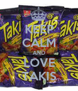 KEEP CALM AND LOVE TAKIS - Personalised Poster large