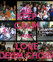 KEEP CALM AND LOVE TE DEUM CHORALE - Personalised Poster large