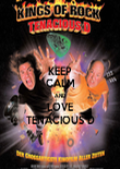 KEEP CALM AND LOVE TENACIOUS D - Personalised Poster large