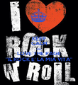 "KEEP CALM AND LOVE THE PAGE ""IL ROCK E' LA MIA VITA"" - Personalised Poster large"