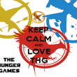 KEEP CALM AND LOVE THG - Personalised Poster large