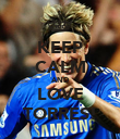 KEEP CALM AND LOVE TORRES! - Personalised Poster large