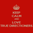 KEEP CALM AND LOVE TRUE DIRECTIONERS - Personalised Poster large
