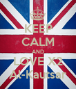 KEEP CALM AND LOVE X2 Al-Kautsar - Personalised Poster large