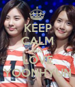 KEEP CALM AND LOVE YOONHYUN - Personalised Poster large