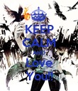 KEEP CALM AND Love You!! - Personalised Poster large