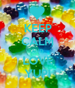 KEEP CALM AND LOVE YUPI - Personalised Poster large