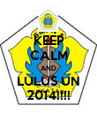 KEEP CALM AND LULUS UN 2014!!!! - Personalised Poster large