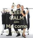 KEEP CALM AND Ma come ti vesti?!  - Personalised Poster large