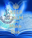 KEEP CALM AND Make  Dua  - Personalised Poster large