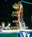 KEEP CALM AND MINCHIA SIGNOR TENENTE - Personalised Poster large