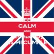 KEEP CALM AND mis huevos ES MI CUMPLE - Personalised Poster large