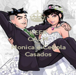 KEEP CALM AND Monica e Cebola Casados - Personalised Poster large