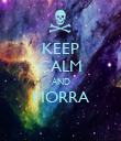 KEEP CALM AND MORRA  - Personalised Poster large