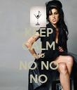 KEEP CALM AND NO NO NO - Personalised Poster large