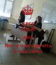 KEEP CALM AND Non è una sigaretta è una canna - Personalised Poster large