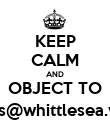 KEEP CALM AND OBJECT TO valuations@whittlesea.vic.gov.au - Personalised Poster large