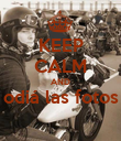 KEEP CALM AND odiá las fotos  - Personalised Poster large