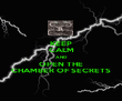 KEEP CALM AND OPEN THE CHAMBER OF SECRETS - Personalised Poster large