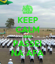 KEEP CALM AND PASSEI NA AFA - Personalised Poster large