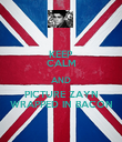 KEEP CALM AND PICTURE ZAYN WRAPPED IN BACON - Personalised Poster large