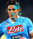 KEEP CALM AND PIEN'Z  'A FA GOL - Personalised Poster large