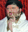 KEEP CALM AND PIGRO TIME - Personalised Poster large