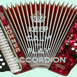 KEEP CALM AND PLAY ACCORDION - Personalised Poster large