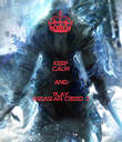 KEEP CALM AND PLAY ASSASIAN CREED 3 - Personalised Poster large