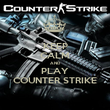 KEEP CALM AND PLAY COUNTER STRIKE - Personalised Poster large