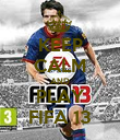 KEEP CALM AND PLAY FIFA 13 - Personalised Poster large