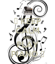 ♪ KEEP CALM AND PLAY PIANO ♪ - Personalised Poster large