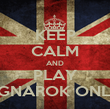 KEEP CALM AND PLAY RAGNAROK ONLINE - Personalised Poster large