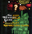 KEEP CALM AND PLAY  THE WESTING GAME - Personalised Poster large