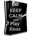 KEEP CALM AND Play  Xbox  - Personalised Poster large