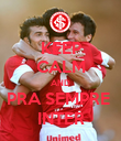 KEEP CALM AND PRA SEMPRE  INTER - Personalised Poster large