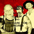 KEEP CALM AND PREPARE FOR ZAGREB - Personalised Poster large