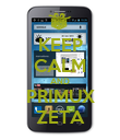 KEEP CALM AND PRIMUX ZETA - Personalised Poster large