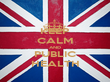 KEEP CALM AND PUBLIC HEALTH - Personalised Poster large