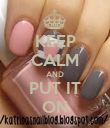 KEEP CALM AND PUT IT ON - Personalised Poster large