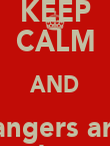 KEEP CALM AND Rangers are  Shite - Personalised Poster large
