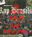 KEEP CALM AND RAP  NACIONAL - Personalised Poster large