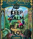 KEEP CALM AND READ TLOS - Personalised Poster large