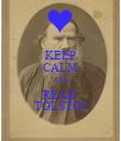 KEEP CALM AND READ  TOLSTOJ - Personalised Poster large